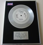 YVONNE ELLIMAN - IF I CAN'T HAVE YOU PLATINUM single presentation Disc